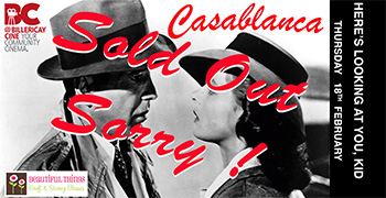 casablanca film review On nov 26, 1942, casablanca made its world premiere at the hollywood theatre in new york city the hollywood reporter's original review, headlined 'casablanca' terrific hit — inspired casting.